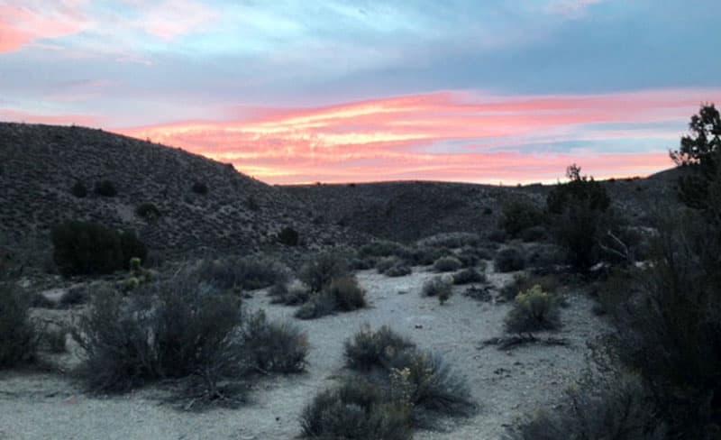 Outside Tonopah, Nevada