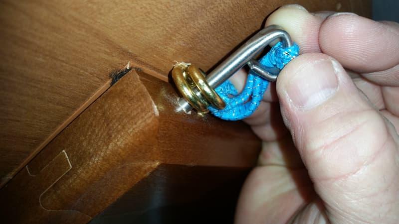 Easy fix latches so door doesn't swing open