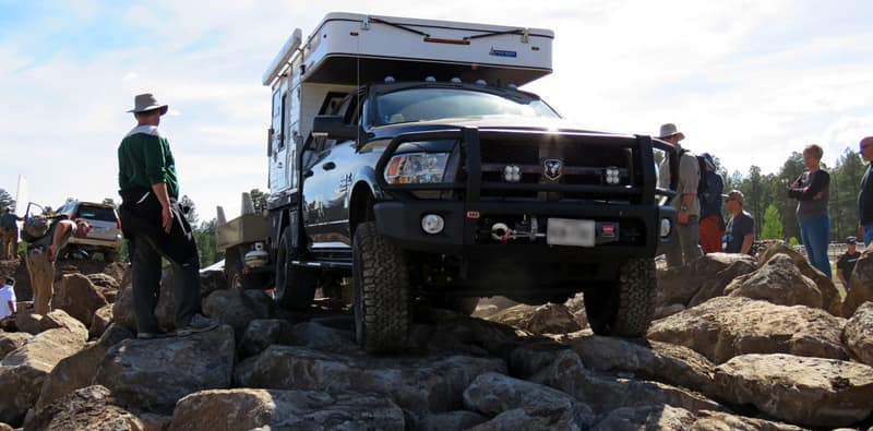 Overland Expo Rock Climbing Four Wheel Camper