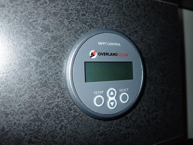 Overland Solar 160 Watt Panel MPPT Controller