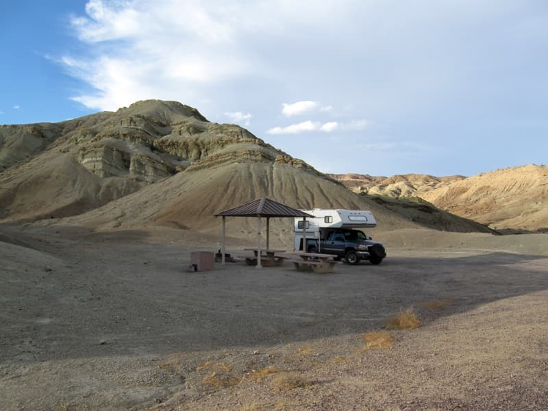 Owl Canyon Campground Near Barstow California