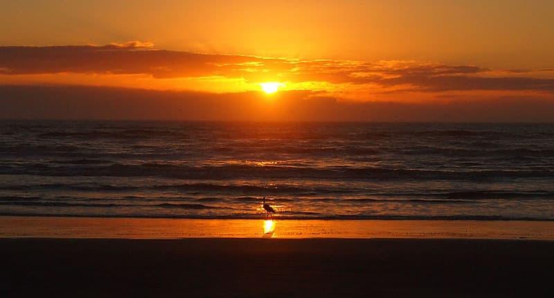 Sunrise on Padre Island, Texas