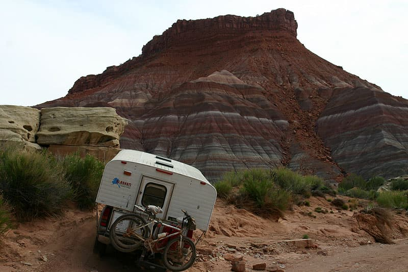 Pahreah, Utah in the Gypsy Wagon