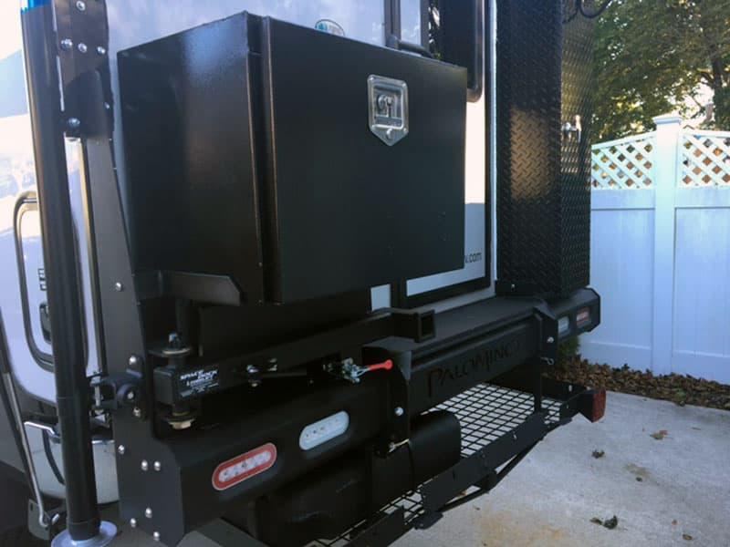 Palomino Bumper Boxes for generator