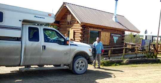 Alaska-YR-BLM-Vistors-Station-at-Yukon-River