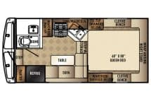 Palomino HS-2901 floor plan for Buyers Guide
