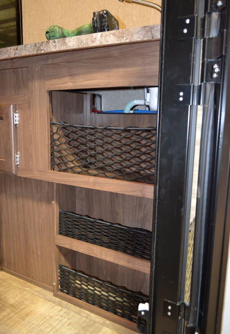 netting and bungie storage - Palomino HS-650