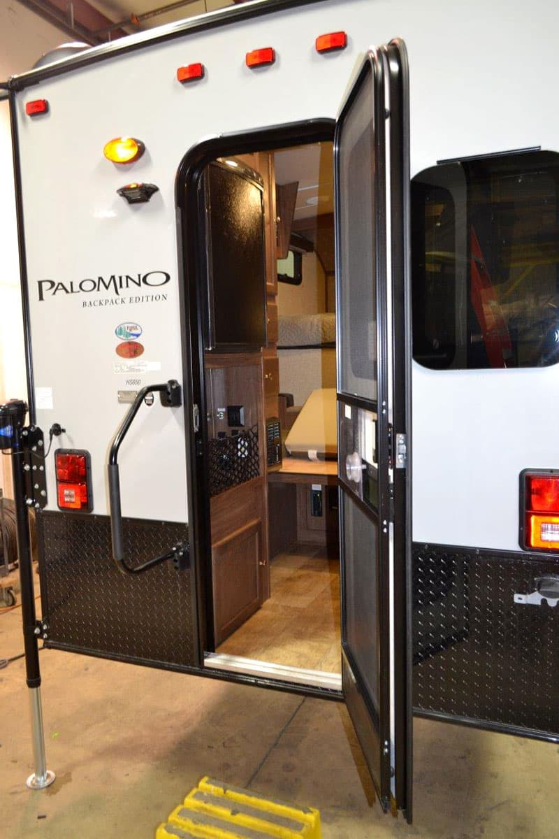 Torklift International GlowSteps can be added to the Palomino HS-650