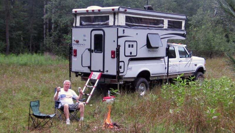 Palomino Pop-Up camper, Daryl Davis