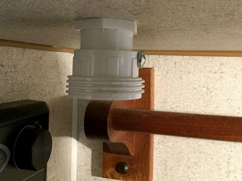 Paper towel holder PVC