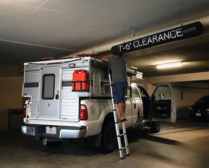 Parking Garage Downtown San Diego, California