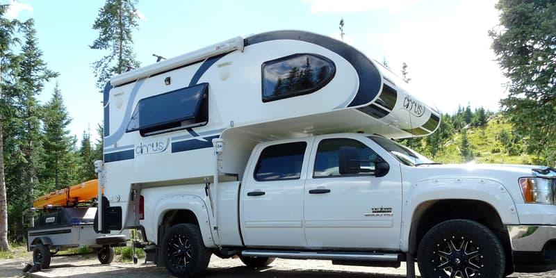 Camping in Pear Lake, Colorado