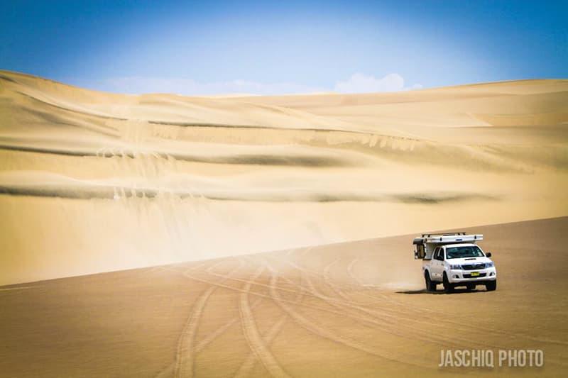 Driving the desert of Peru