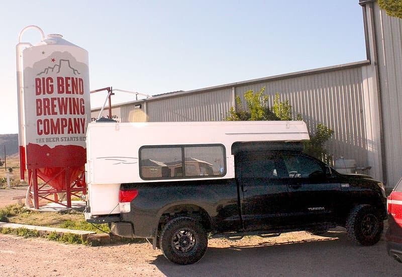Big Bend Brewing Company, Texas