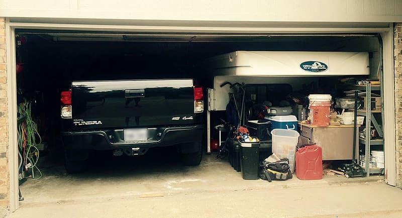 Phoenix Camper garage kept