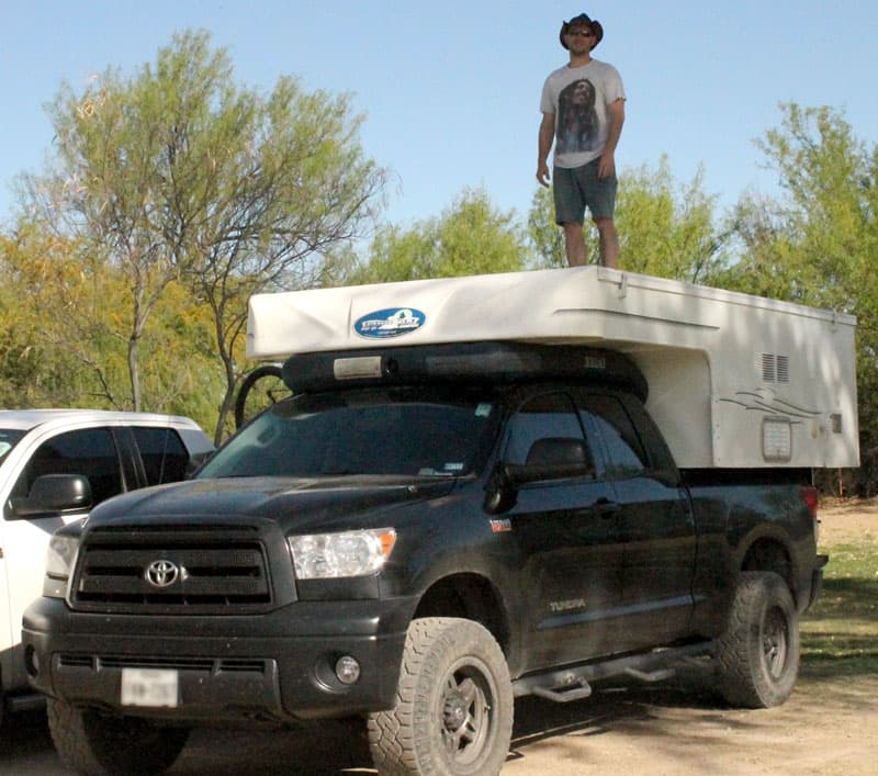 David Jolly and his 2009 Phoenix Custom Camper