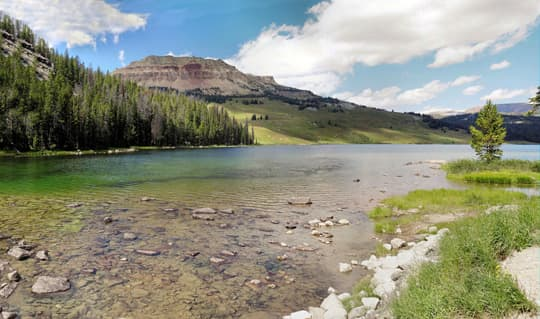 Wyoming-Beartooth-Lake