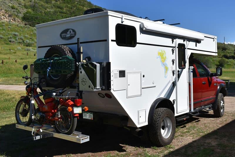 Phoenix Chassis Mount Camper Door