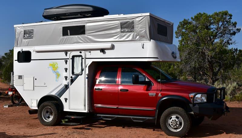 Phoenix Chassis Mount Demountable Camper
