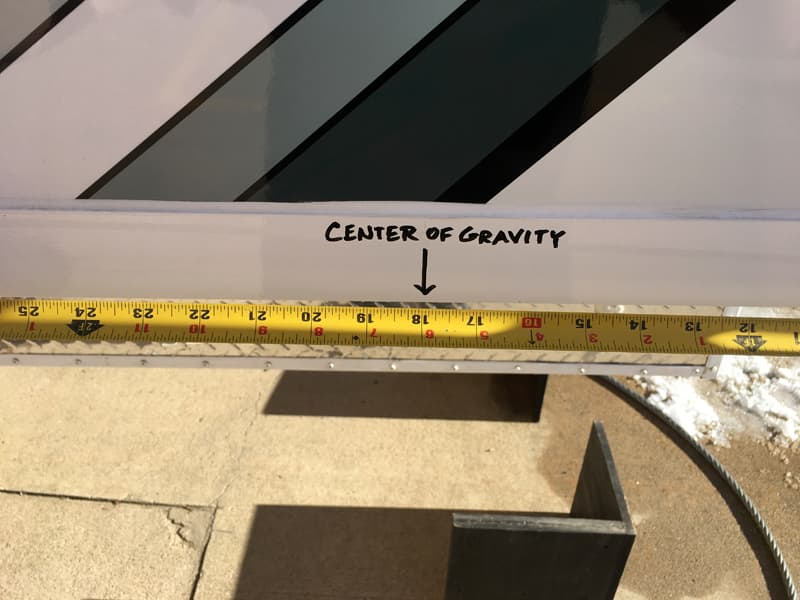 Phoenix Mini Max Center of Gravity