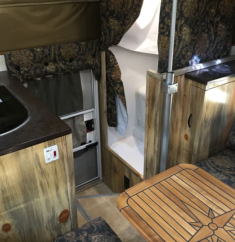 Phoenix Mini-Max interior dinette bath kitchen