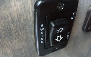 Phoenix Camper awning switch