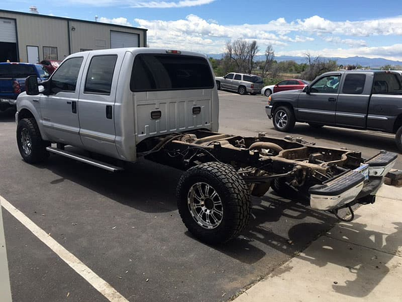 Ford F350 no bed
