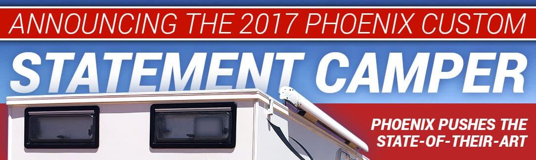 Phoenix statement Flatbed Camper