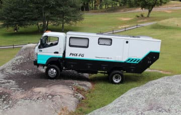 Phoenix chassis mount camper