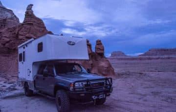 Phoenix flatbed hard side camper