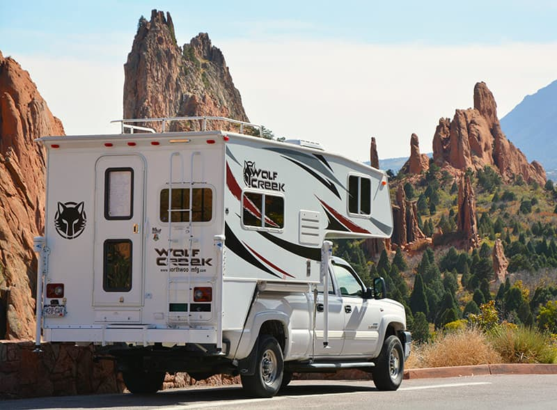 Wolf Creek Pickup Camper