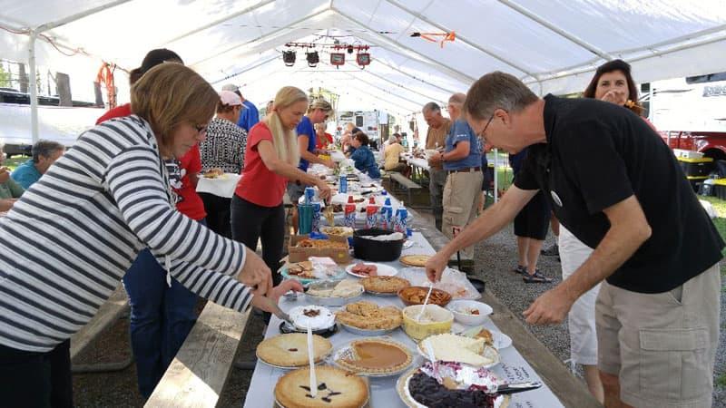 Pie Night at Lake George Rally