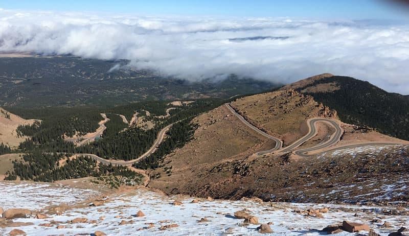 Pikes Peak Colorado Switchbacks