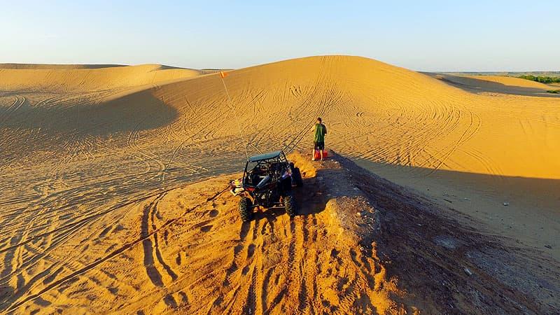 Polaris RZR Little Sahara, Oklahoma