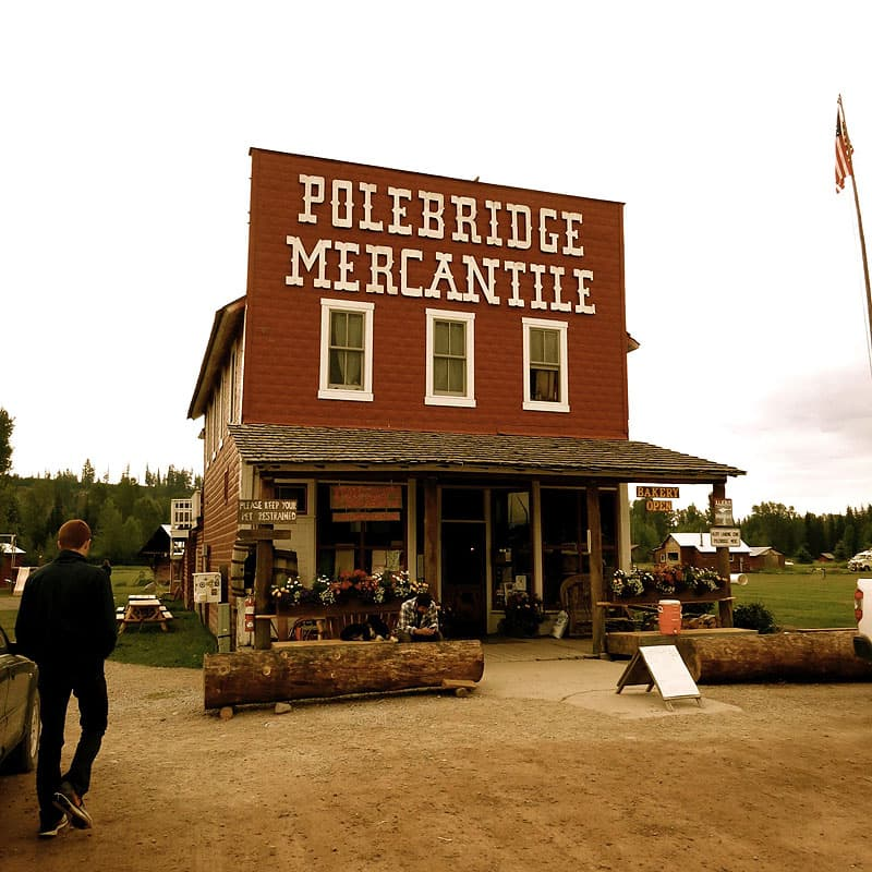 Polebridge Mercantile, Glacier National Park, Montana