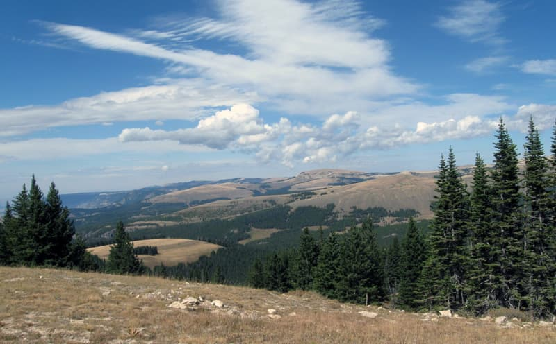 Porcupine Campground USFS Wyoming
