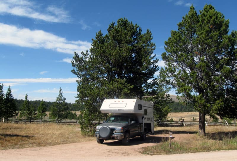 Porcupine Campground, Wyoming