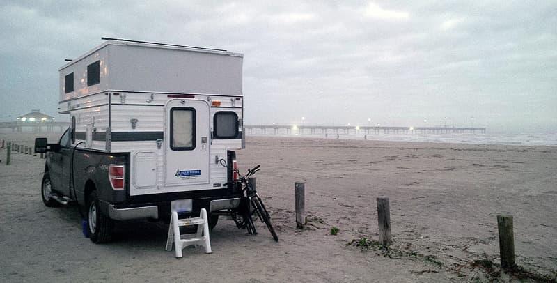 Port Arnasas beach front camping