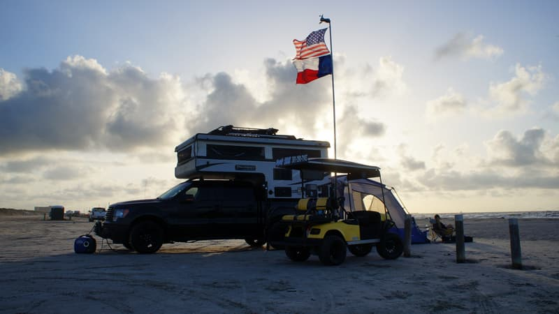 Port Aransas Camper And Buggy
