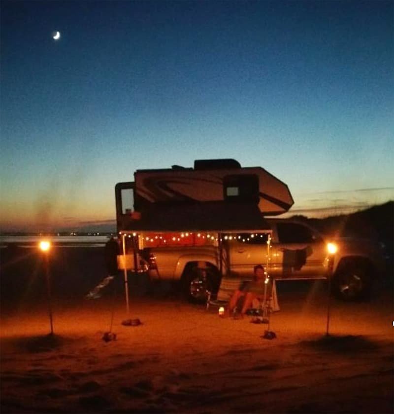 Portsmouth Island beach camping