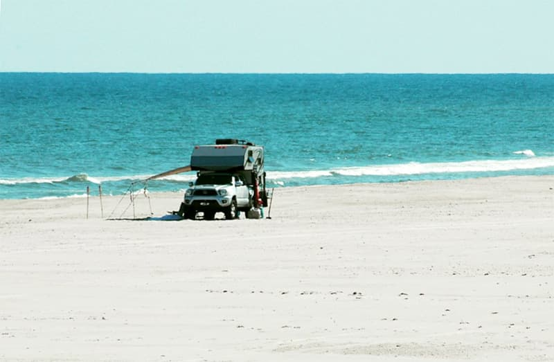 Portsmouth Island remote camping