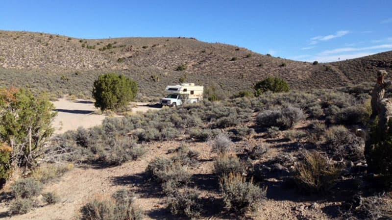 Primitive Camping 129 Miles Away From Tonopah