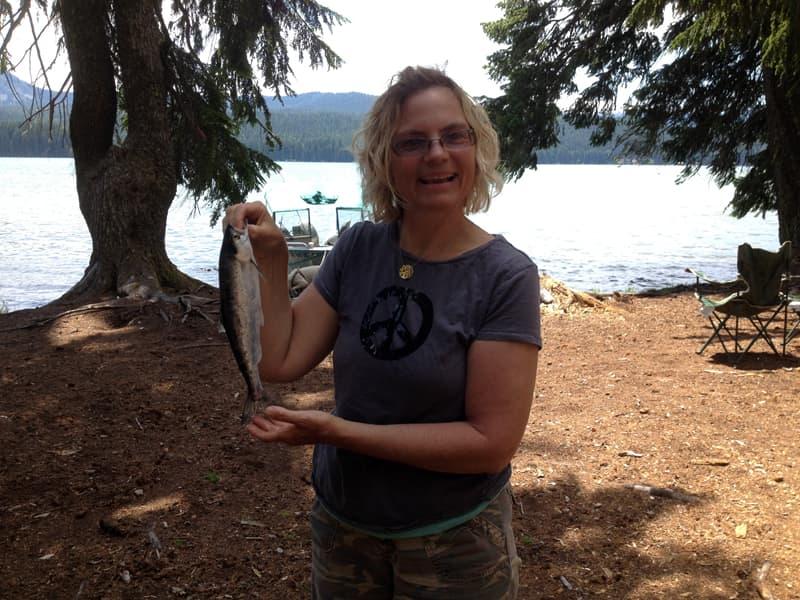 Princess Creek fish