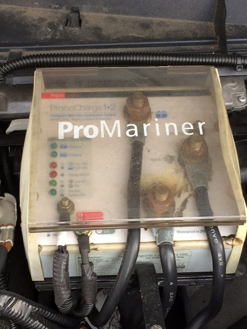ProMariner ProIsoCharge 250A smart battery isolator/charger