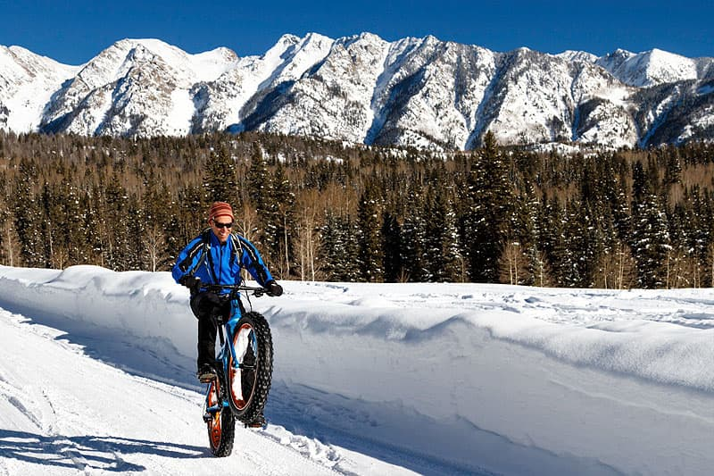 Biking at Puragtory Ski Resort in Colorado