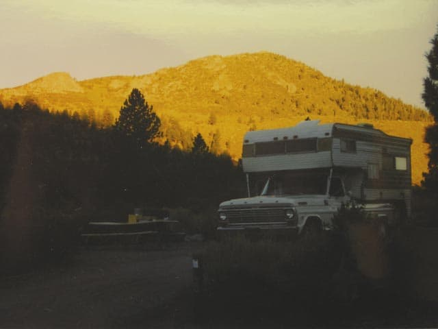 35 years with one truck camper