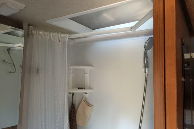 Truck Camper Shower Upgrades And Improvements