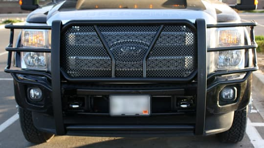 Oh Deer! Brush Guards for Truck Campers