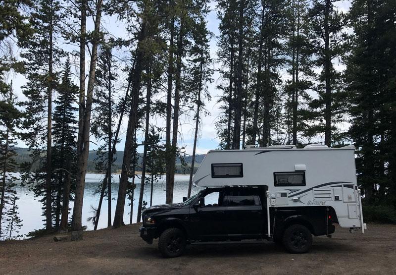 Quiet Spot Next To Yellowstone Lake.