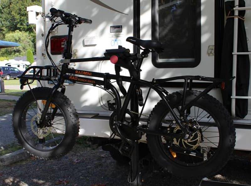 Rad Mini Bike Instead Of Camper On Trails